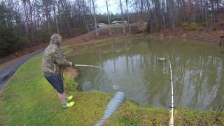 Catfishing in Small Pond