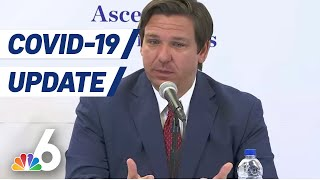 DeSantis Gives COVID-19 Update, Announces Gyms Reopening Next Week Across Majority of State