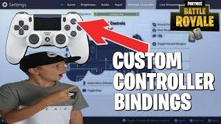 BEST keybinds sensitivity for Fortnite PS4 full set up