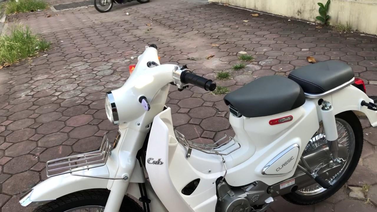 CUB 50cc màu trắng- phiên bản Classic 0931885999