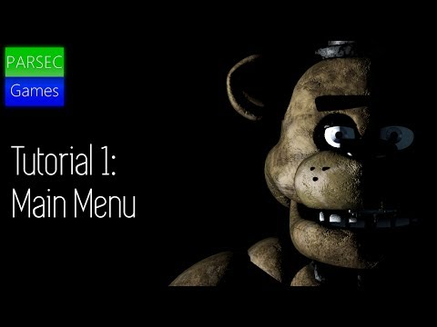 FNAF Scratch Tutorial: Realistic Remake   Ep.1   Main Menu
