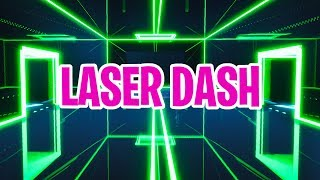 Laser Dash // Fortnite Creative Minigame // Trailer + Code