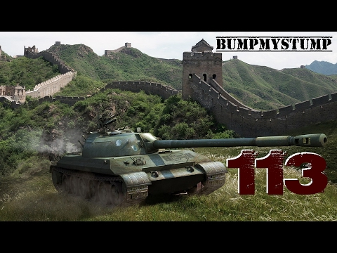 World of Tanks Console 113 || Pacific Island Typhoon || How Just How
