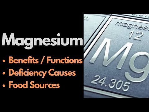Magnesium Benefits, Cause Of Deficiency & Top Food Sources