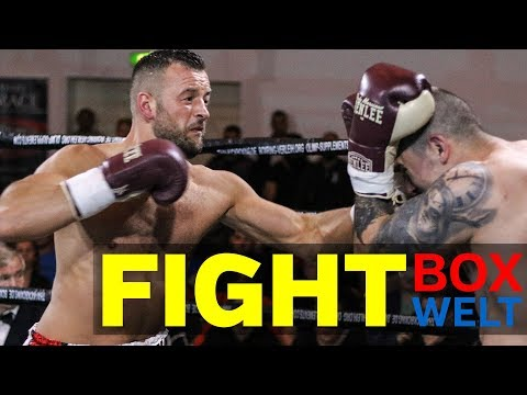 Erdogan Kadrija vs Tibor Varga - 8 rounds cruiserweight - 28.04.2018 - Stadthalle Cloppenburg