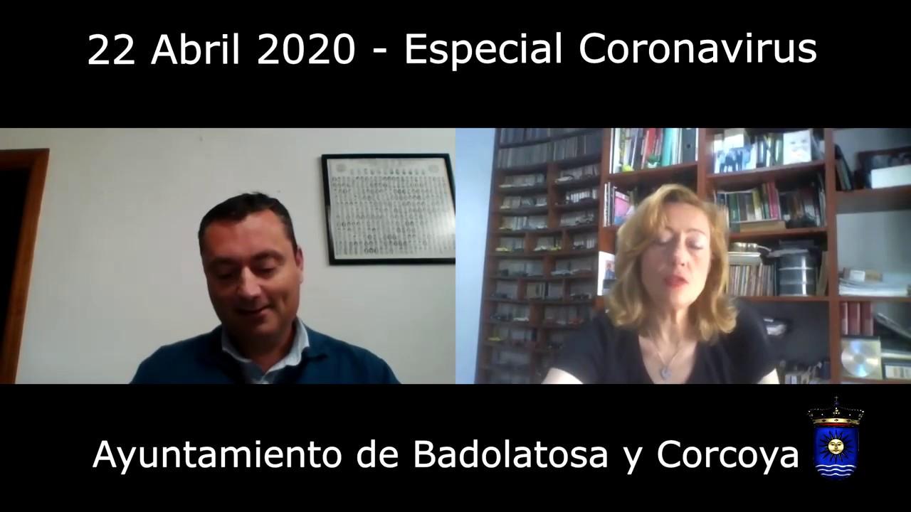 BADOLATOSA Y CORCOYA – ESPECIAL CORONAVIRUS 22-04-2020