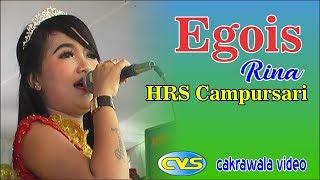 Egois ~ Rina // HRS Campursari // Rosita Sound ~ Gondangrejo Sine 2 November