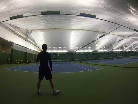 Mr Alexander   2018 02 28   Tennis Practice with Nick   Part 4