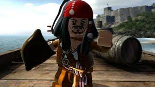 LEGO Pirates of the Caribbean Walkthrough Part 1 - Port Royal