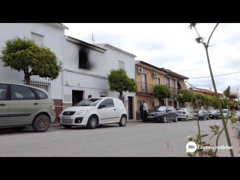 VÍDEO: Prisión provisional sin fianza para la mujer que presuntamente incendió su casa en Las Navas con su hermana dentro