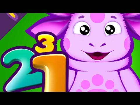 Рыжик Учит Считать до 10 - Развивающие Видео для Детей от 2 лет