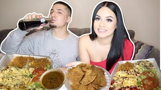 MUKBANG: HOW WE REALLY MET + FIRST DATE 💏