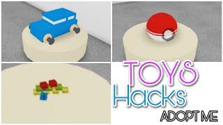 5 TOYS Hacks 🧸🚗 | Adopt Me - Building Hacks