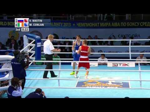 Men's Bantam (56kg) - Quarter Final - Vladimir NIKITIN (RUS) vs Michael CONLAN (IRL)