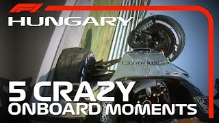 5 Crazy Onboards | Hungarian Grand Prix