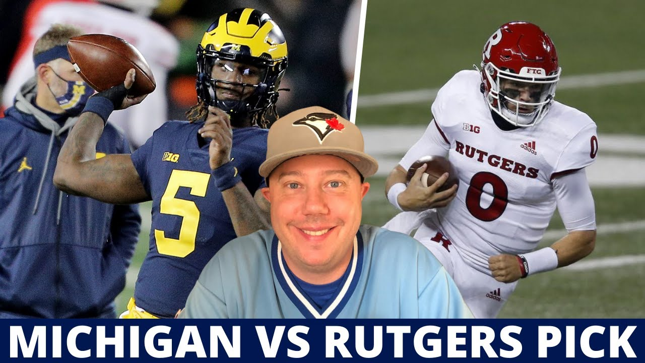 Michigan at Rutgers Pick | College Football Week 12 Predictions and Best Bets | Saturday 7:30 ET
