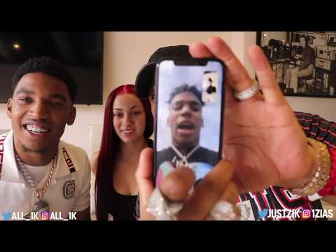 "BHAD BHABIE reacting to ""Get Like Me"" ft. Choppa with ZIAS!  