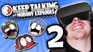 Keep Talking and Nobody Explodes: Mr. Bombastic - PART 2 - Steam Train