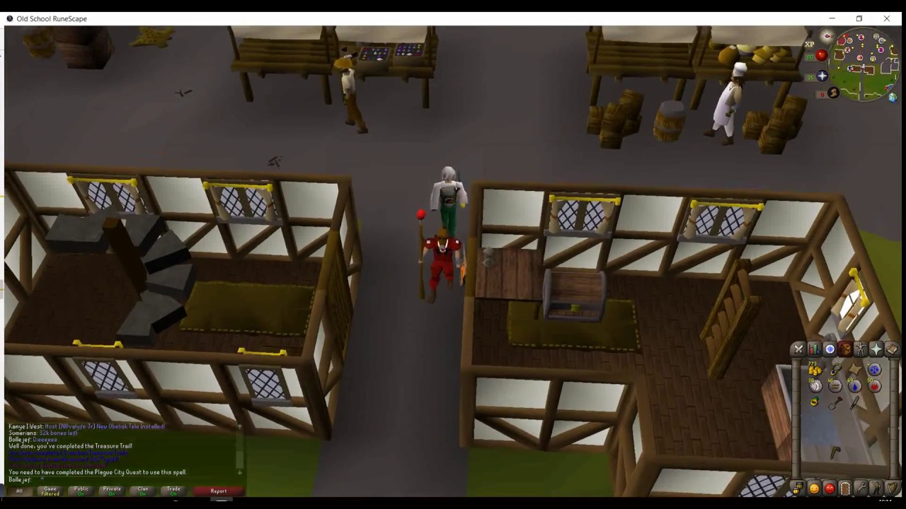 Search The Boxes Just Outside The Armour Shop In East Ardougne Clue