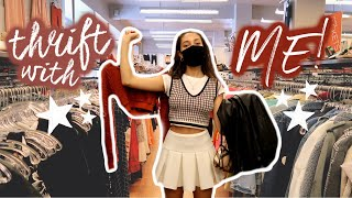 come thrifting with us in LA + try-on haul:)