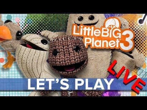 LittleBigPlanet 3 - Eurogamer Let's Play LIVE
