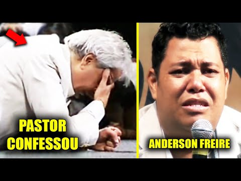 ACABOU Pastor Benny Hinn Revela FARSA Ao Vivo ANDERSON FREIRE desce do palco + CABO DACIOLO