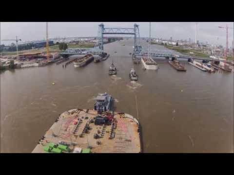 Time Lapse Port of Rotterdam Dolwin Alpha
