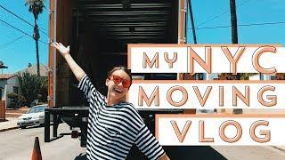 My LA - NYC Moving Vlog | Ingrid Nilsen