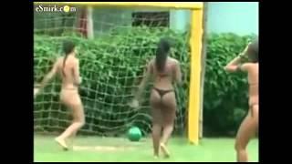 Футбол в бикини   Разное   Приколы   bigmirnet