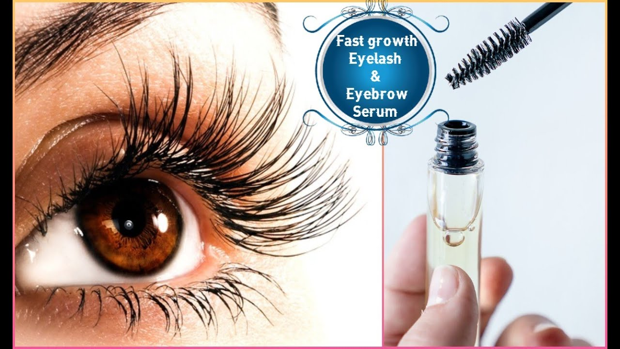 How to grow longer Eyelashes and thicker Eyebrows at home ...
