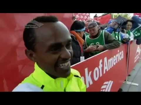 The Funniest Ethiopian Athlete  Interview Ever