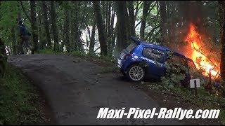Best-Of Rallyes 2017 (Part 1) - Crashs, Mistakes, Fails, Spins & Flat-Out !! [HD]