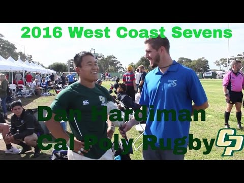 Cal Poly Rugby 7s Captain Dan Hardiman Interview | 2016 West Coast Sevens