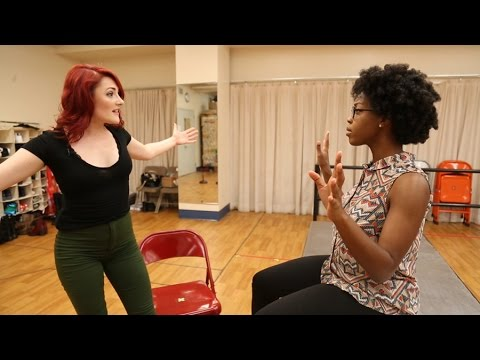 RENT Tour's Katie LaMark & Jasmine Easler Rehearse 'Take Me or Leave Me'