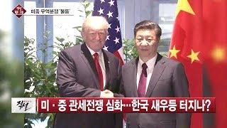 [직설 다시보기]  난타전으로 번지는 미중 무역전쟁…韓 선택은?