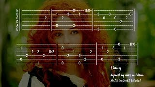 Greensleeves (What Child is This) [Full Acoustic Guitar Tab by Ebunny] Fingerstyle How to Play