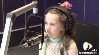 amira willighagen live in studio sings babbino interview