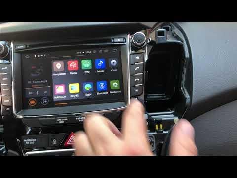 Hyundai i30  removal radio Andorid 9 octo core