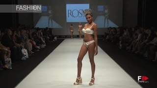 ROSY GRAND DEFILE LINGERIE MAGAZINE Mirror of History by Fashion Channel