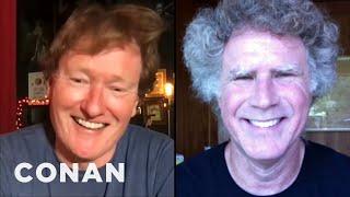 #CONAN: Will Ferrell Full Interview - CONAN on TBS
