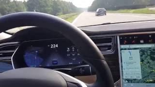 tesla Model S 70D Autobahn max speed