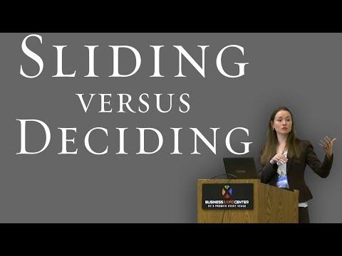 Sliding vs. Deciding: How Premarital Experiences Affect Future Marital Happiness - Galena K. Rhoades