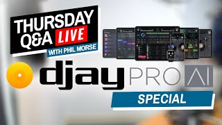 djay Pro AI - New Vocal/Music/Drums Isolation - Live Q&A With Algoriddim's CEO