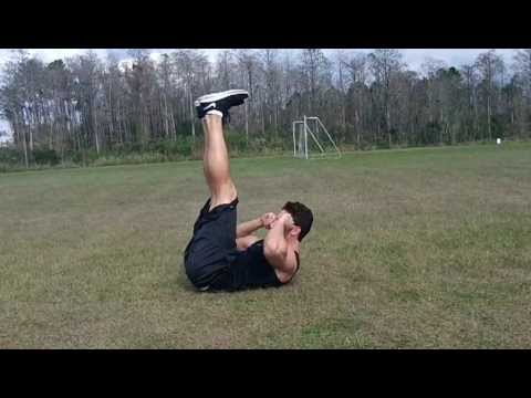 How To: Horizontal and Vertical Leg Crunch