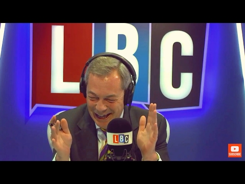 The Nigel Farage Show: Amber Rudd's child refugee policy. LBC live 9th February 2017
