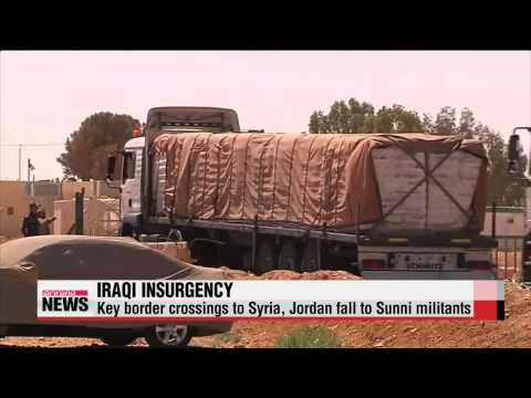 Sunni miliants seize control of Iraq's western border crossings