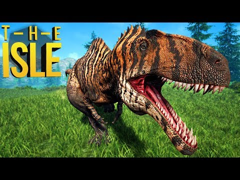 The Isle Realismo - Grande Carnívoro, Acrocanthosaurus Matador! | Dinossauros (#141) (PT-BR)