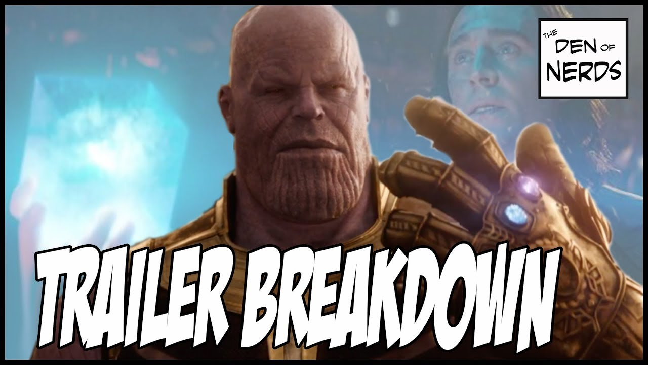 In Depth Avengers Infinity War Trailer Breakdown | Thanos Beating the Avengers Explained!