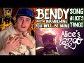 SFM BENDY AND THE INK MACHINE SONG - Alice's Tango (You Will Be Mine) | Reaction