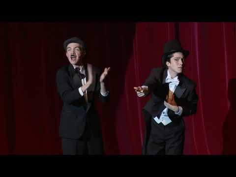 THE 39 STEPS Scene 1 thru 3 Stratford Playhouse